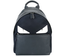'Bag Bugs' Lederrucksack - men - Leder/Nylon