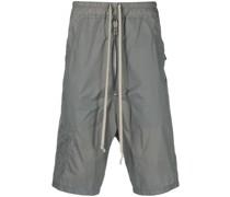 Shell-Shorts mit Logo-Stickerei