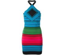 - Neckholder-Kleid in Colour-Block-Optik - women