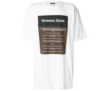 'Warning Signs' T-Shirt