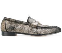 Strukturierte Penny-Loafer