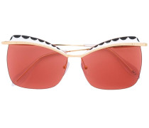 Quadratische Cat-Eye-Sonnenbrille - women