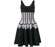 patterned intarsia dress