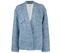 Jeansjacke im Kimono-Stil