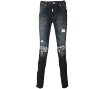 Skinny-Jeans im Distressed-Look