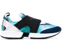 Sneakers mit Palmen-Print - women