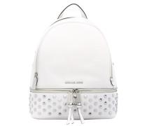 - Rhea studded leather backpack - women