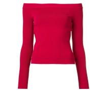 Schulterfreier Pullover - women - Schurwolle - S