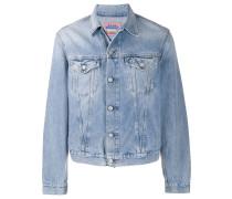 Jeansjacke mit weitem Schnitt
