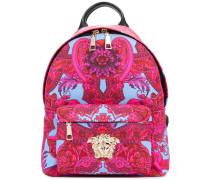 Barocco print backpack