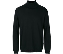 knitted roll-neck sweater