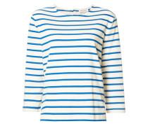 - Langarmshirt mit Streifen - women - Baumwolle