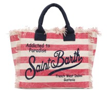 Gestreifter 'Vanity' Shopper