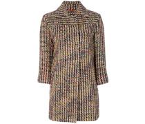 Tweed-Jacke mit Eton-Kragen