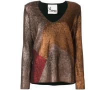 'Venus' Metallic-Pullover