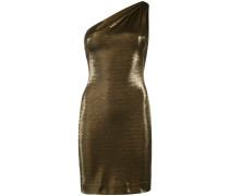 Dakota metallic one-shoulder mini dress