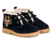 embroidered tiger boots