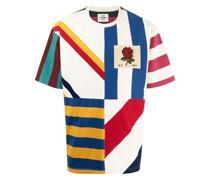 stripe-print short-sleeved T-shirt
