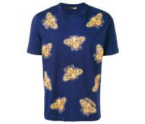 T-Shirt mit Insekten-Print - men - Baumwolle