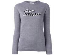 'Substande' Intarsien-Pullover