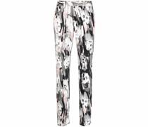Skinny-Jeans mit Print
