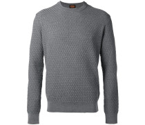 Pullover mit rundem Kragen
