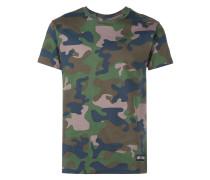 T-Shirt mit Camouflagemuster