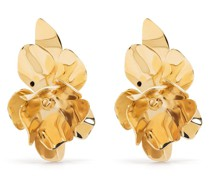 Große Blumen-Ohrringe
