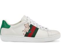 """""""Ace"""" Sneakers mit Stickerei"""
