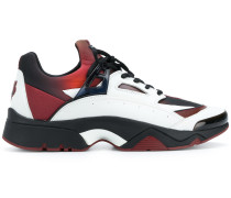 panelled tiger sneakers