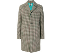 houndstooth pattern coat