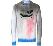 Pullover mit Flaggenmotiv