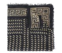 - Schal mit diagonalen Streifen - men