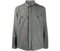 pocket-detail relaxed shirt
