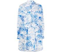Hemdkleid mit Dschungel-Print
