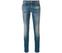 bead detail jeans