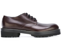 Derby-Schuhe mit zackiger Sohle