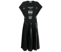 Kleid mit Logo-Print