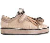 Sneakers mit Prägung - women - Leder - 40