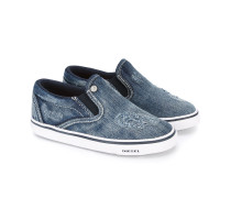 SlipOnSneakers in Jeansoptik