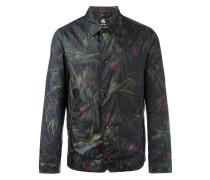 Leichte Jacke mit floralem Print