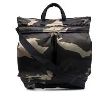 Shopper mit Camouflage-Print