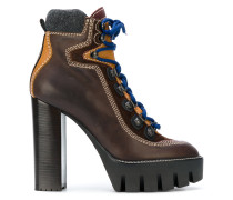 hiking style ankle boots