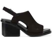Slingback-Sandalen mit mittelhohem Absatz