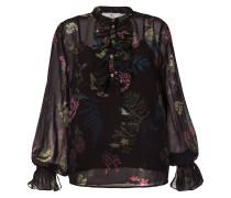 'Frankie' Bluse mit Blumen-Print