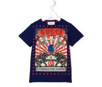 T-Shirt mit Zirkus-Print