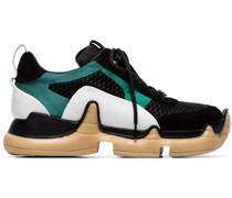 'Nitro' Sneakers mit Netzeinsätzen
