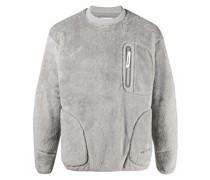 Sweatshirt aus Faux Fur