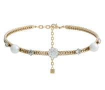 'Lulu' Choker mit Perlen und Kristallen