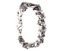 Silberarmband mit Kettengliedern